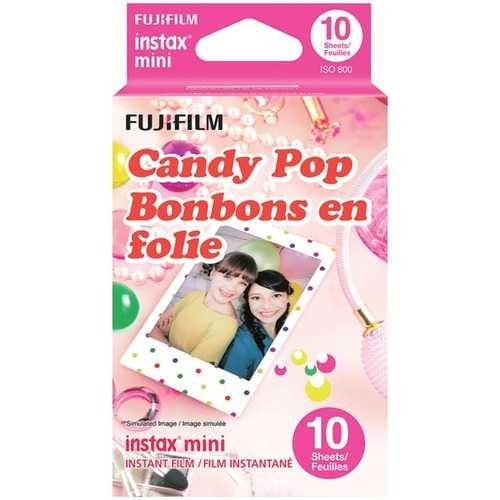 Fujifilm 16321418 instax mini Film Pack (Candy Pop)