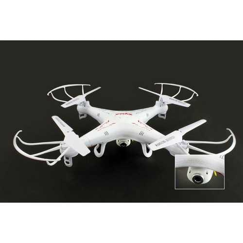 "12"" Syma 4CH 2.4GHz 6 Axis Gyro RC Quadcopter +2.0MP HD Camera and 2G SD Card"