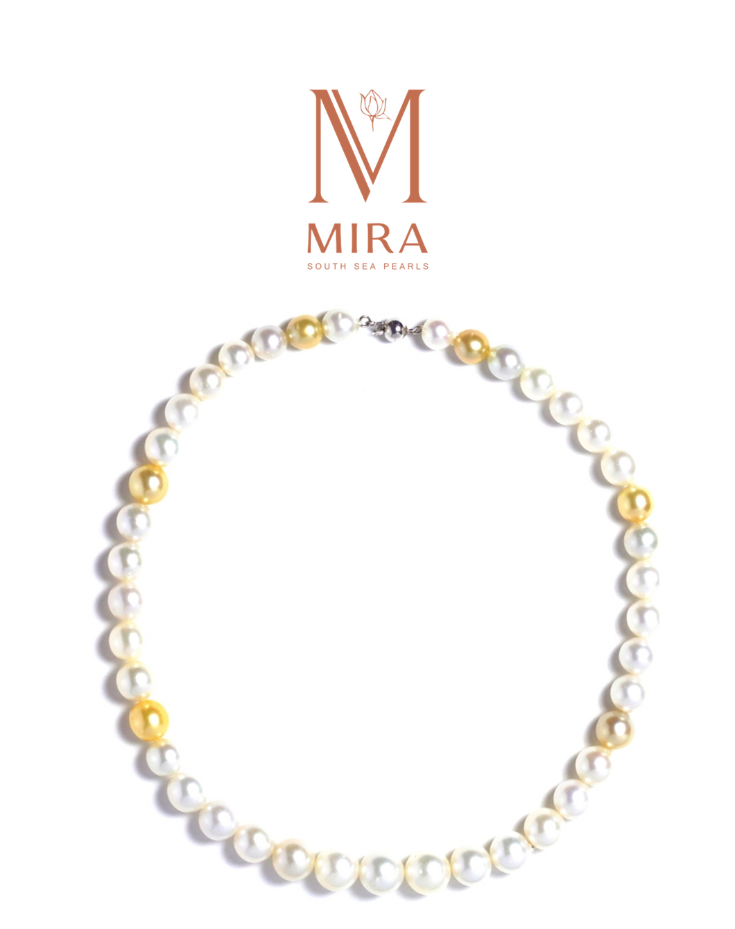 MIRA South sea pearl Necklace