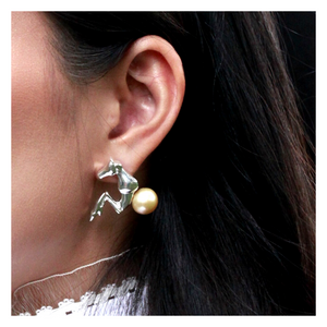 "MIRA X Margenie MG ""Poetry Emotion"" Earring"