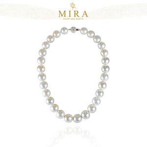 White south sea pearls necklace