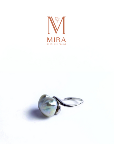 MIRA south sea pearl ring