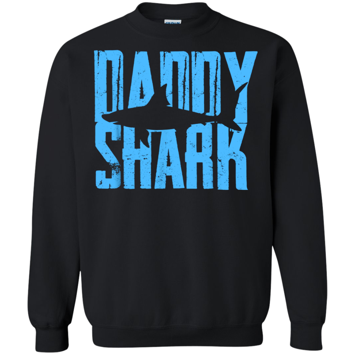 Daddy Shark, Fathers Day Gift From Wife Son Daughter (1) T Shirt Sweater