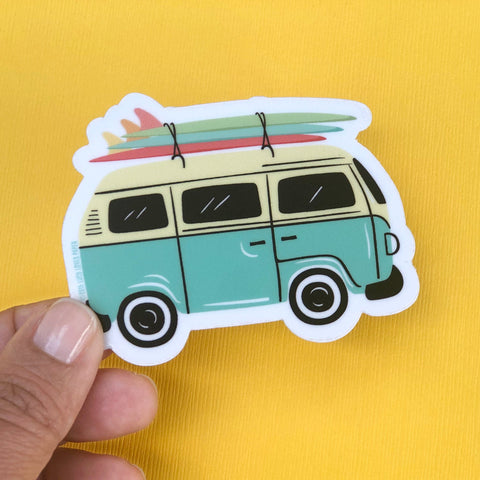 Vintage Van Sticker