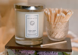 Linen Fresh Aromatherapy Soy Candle