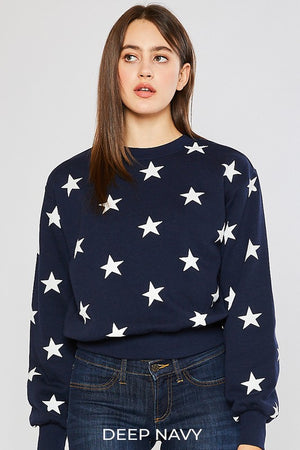 Jr. Size Star Sweatshirt
