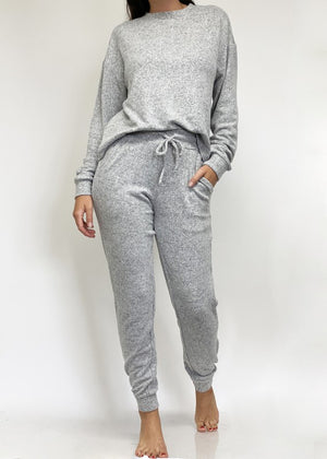 Heathher Grey  lounge set