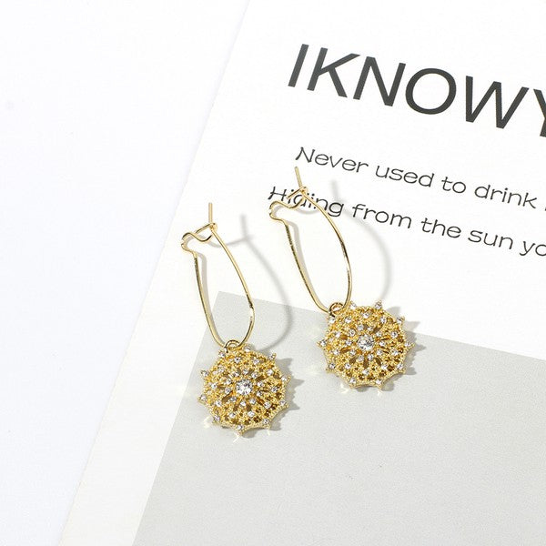 Vintage drop earring