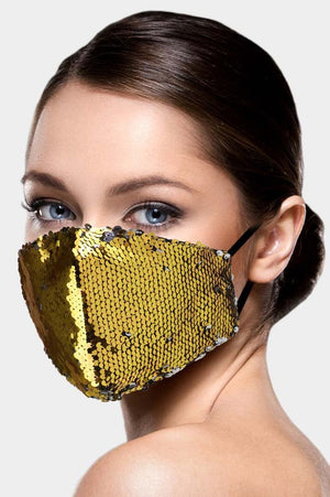 Gold Glam mask