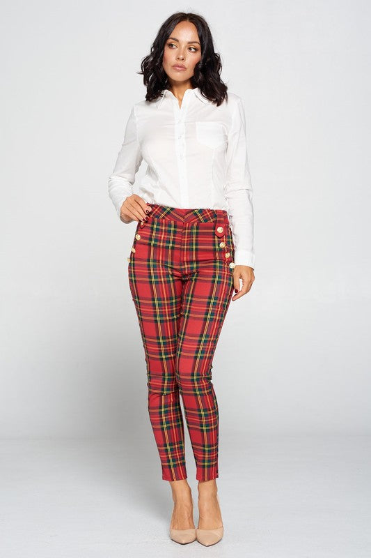 Holiday Plaid Pants