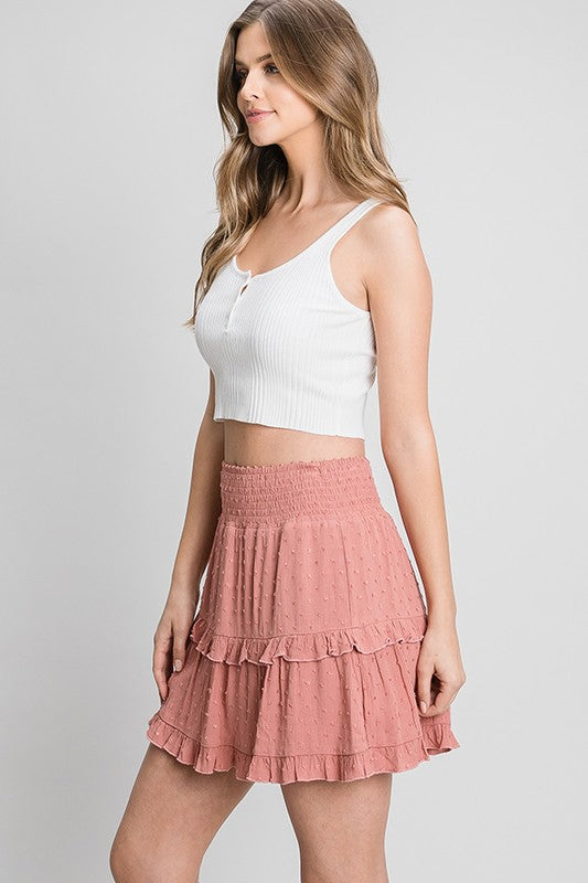 The Heather Ruffle Skirt