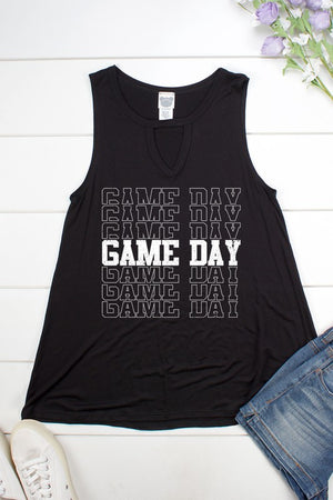 Game Day Keyhole Tank