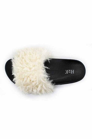 Fabulous Faux Fur Slipper Slide