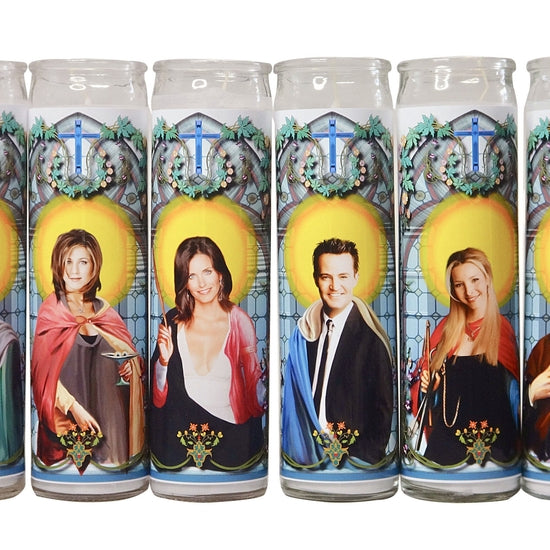 Friends Celebrity Prayer Candle