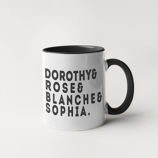 Golden Names Mug