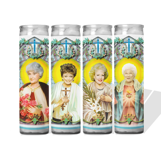 Golden  Celebrity Prayer Candle