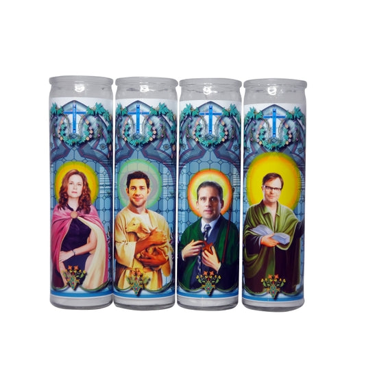 The Office Celebrity Prayer Candle