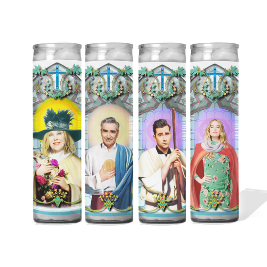 Schitt's Creek Celebrity Prayer Candle