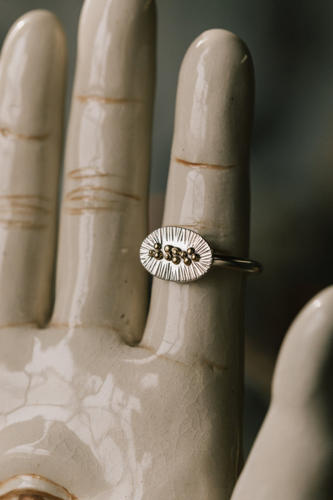 CALICO ASTER RING - 7.25