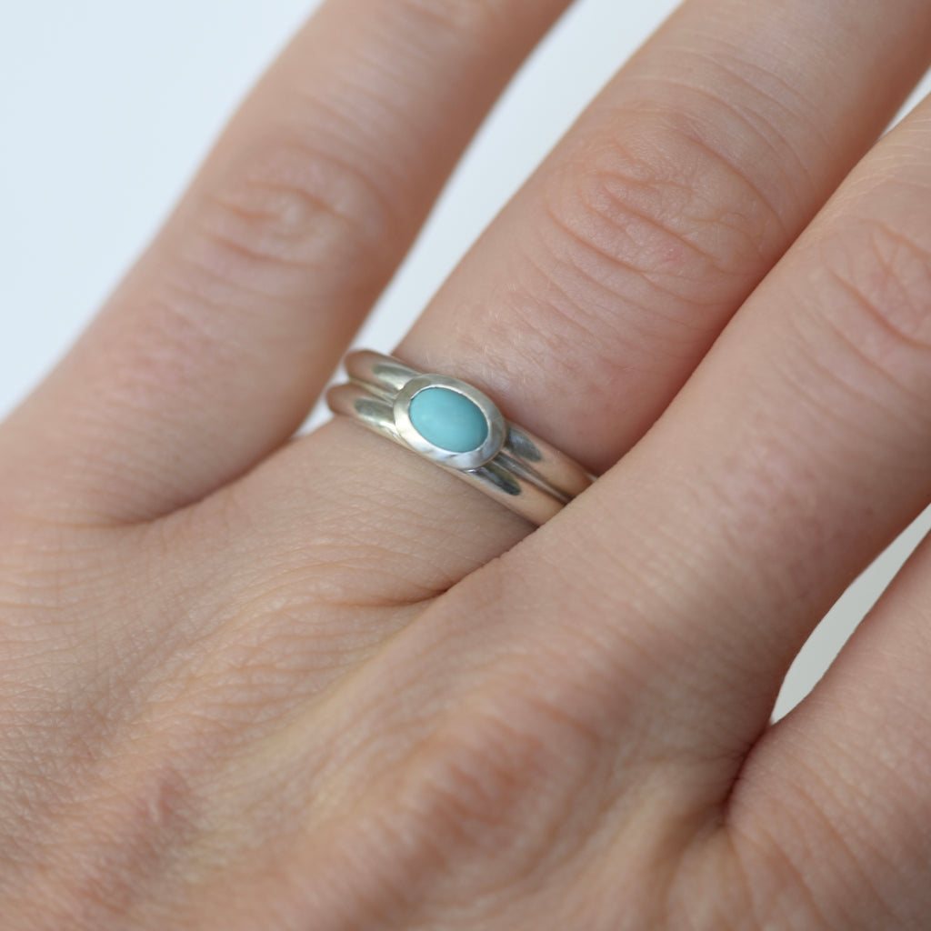 SONORA OVAL RING - SIZE 7