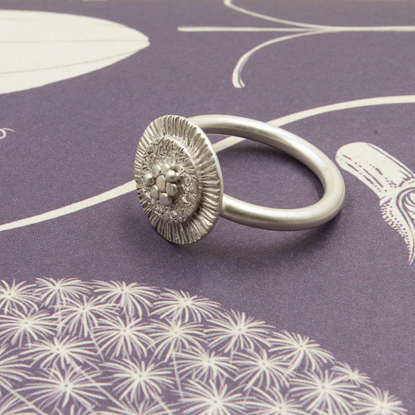 GIANT ZINNIA RING - 7.5