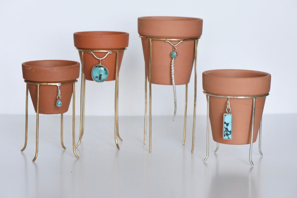 Plant Stand #16 American Turquoise