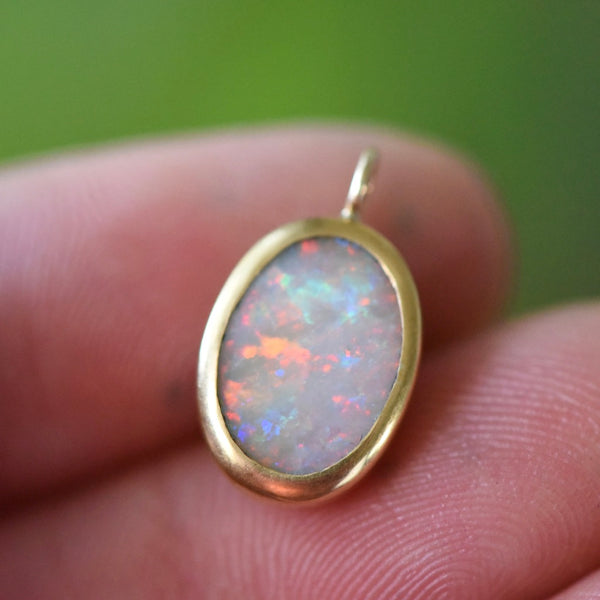 LIGHTNING OPAL NECKLACE