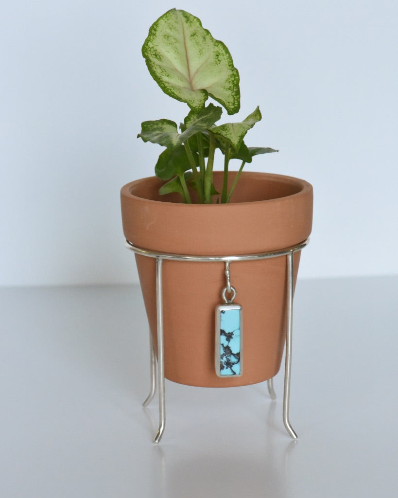 Plant Stand #14 Yungai Turquoise
