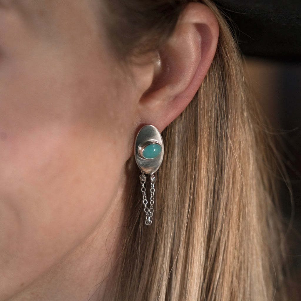 American Turquoise Studs #1
