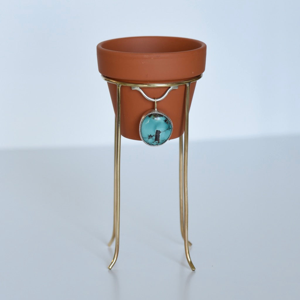 Plant Stand #12 Hubei Turquoise