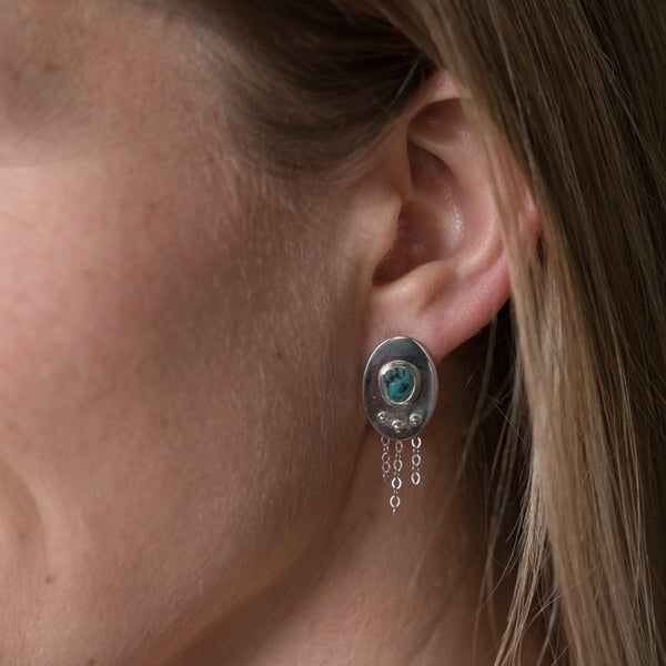 American Turquoise Studs #2