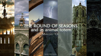 The round of seasons and its animal totem - Making-Of - Copyright © Denis Pontonnier