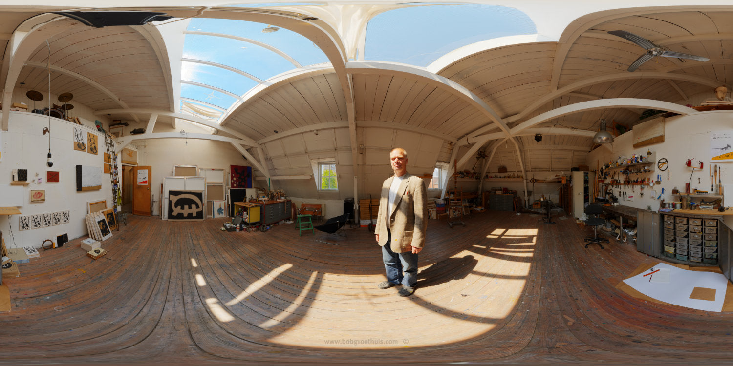 The (close) Encounters Project - Part 11 - Ilja Walraven - HDR Panorama portrait - Copyright © Bob Groothuis