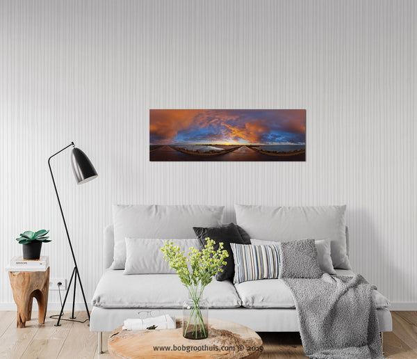 Dutch Skies 360° HDRI - Limited Edition Print - 001  |  Preview look Living Room