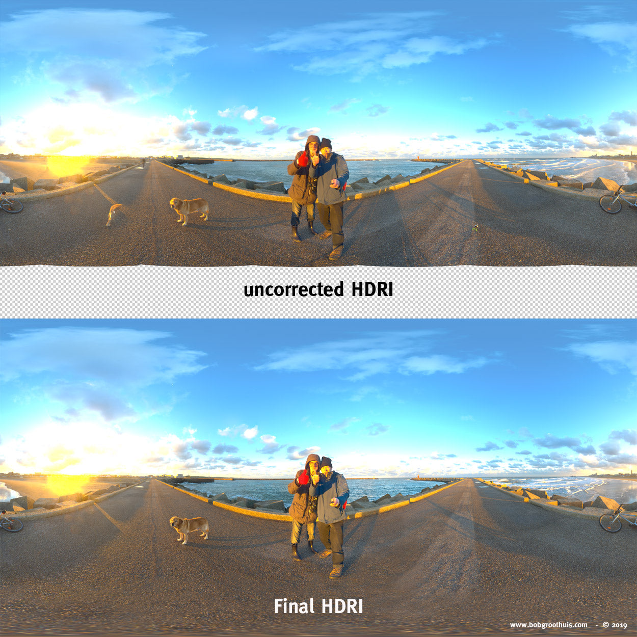 HDRI - Before & Aftere