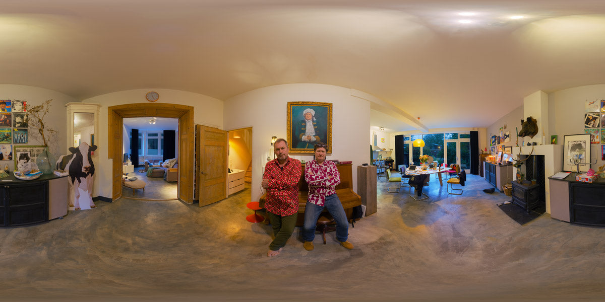 the (close) Encounters Project - Part 15 - Arthur van Amerongen & Rob Muntz - HDR Panorama portret by www.bobgroothuis.com ©