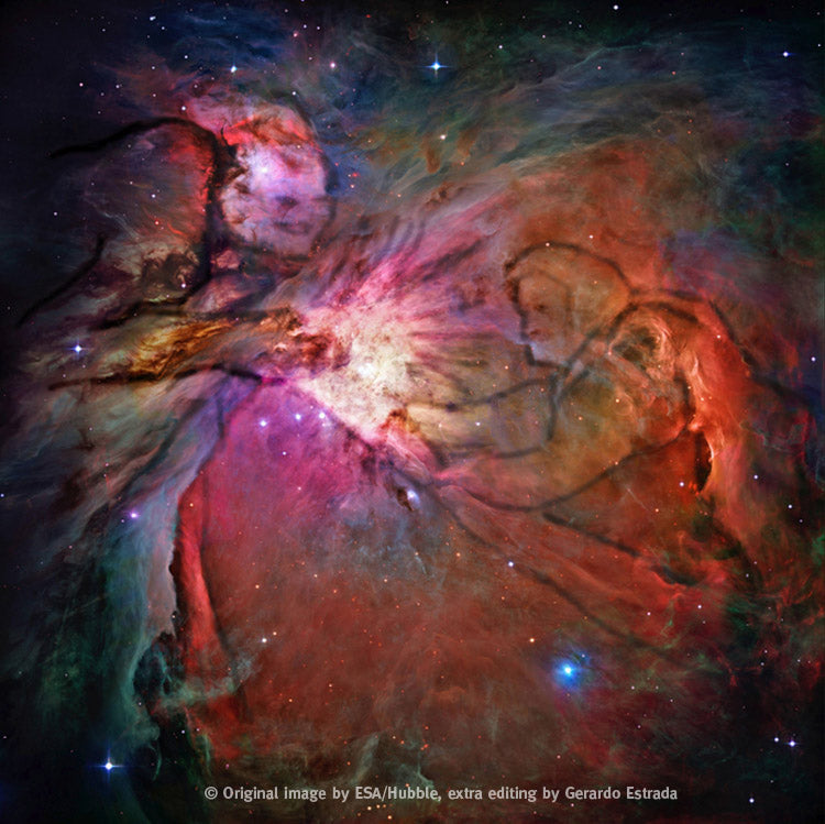 A mysterious Orion Nebula Space Discovery found? Edited by Gerardo Estrada