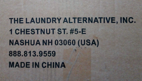Wonderwash shipping from China to the USA to the Netherlands