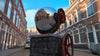 Dutch Free 360° HDRI – 001 | Street scene with cars 3D render 001b
