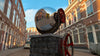 Dutch Free 360° HDRI – 001 | Street scene with cars 3D render 001c