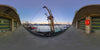 Dutch Free 360° HDRI – 002 | Harbour scene with boats panoramic version 002a