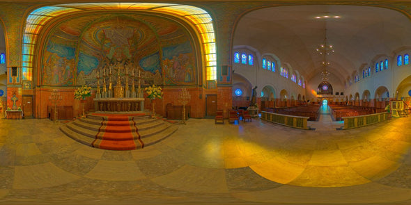 Dutch Free 360° HDRI – 003 | Church scene panoramic version