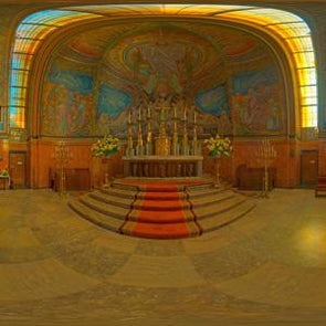 Dutch Free 360° HDRI – 003 | Church scene