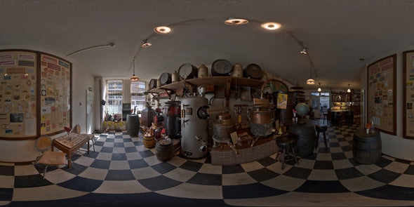 Dutch Free 360° HDRI – 008 | Distillery Museum panoramic version 008a