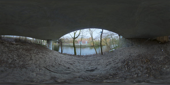 Dutch Free 360° HDRI – 011 | Under Bridge scene panoramic version
