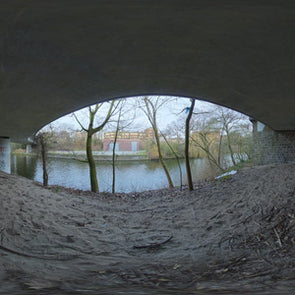 Dutch Free 360° HDRI – 011 | Under Bridge scene