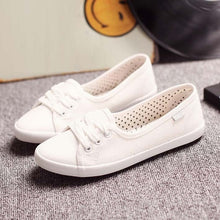 HEE GRAND Casual Flat Women Work Shoes 2018 Summer Lace-up Solid Espadrilles Loafers Creepers Sapatos Femininos Mujer XWD3417