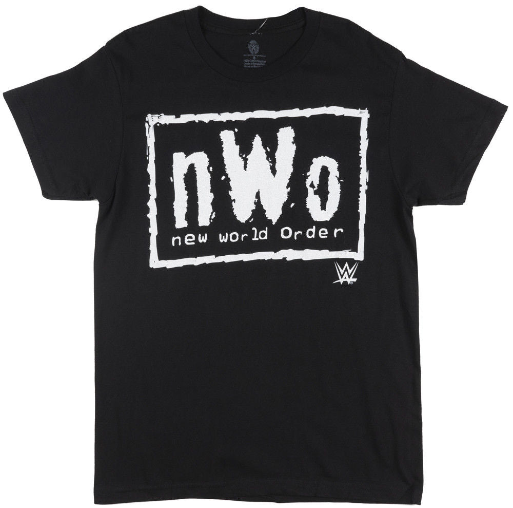 Wwe Nwo New World Order T-Shirt Mens Wolfpac Wrestling Tee Black Whitet-Shirt for Male Classic Sleeveless T Shirt