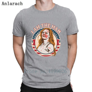 Becky Lynch T Shirt Casual Summer Style Leisure O-Neck Anti-Wrinkle Cotton Designer Original WWE Tee Shirt