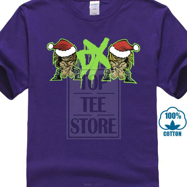 Vintage Dx Wrestling Merry Christmas T Shirt Shawn Michaels Triple H Wwe Wcw